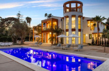 $35 Million Contemporary Mansion in Santa Barbara California
