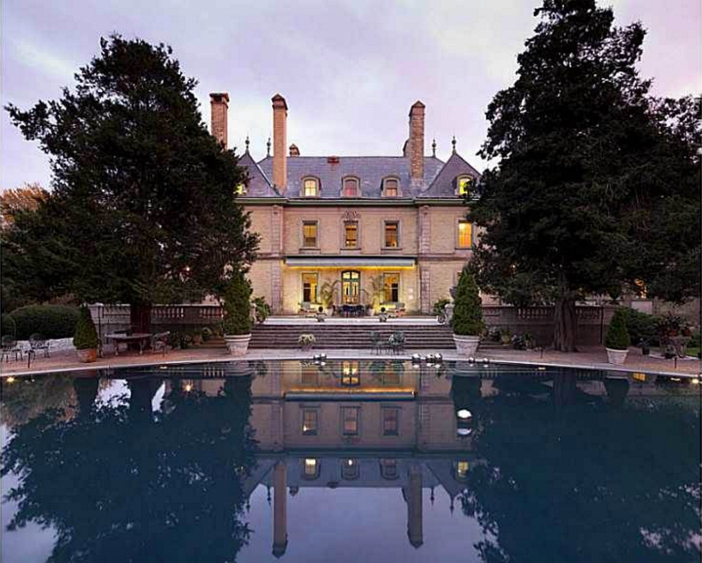 $4.9 Million Gated French Manor in Newport Rhode Island 3