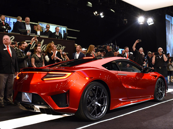 Acura Sold First $1.2 Million NSX Supercar