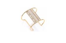Alexis Bittar Miss Havisham Deconstructed Deco Crystal Cuff Bracelet 3