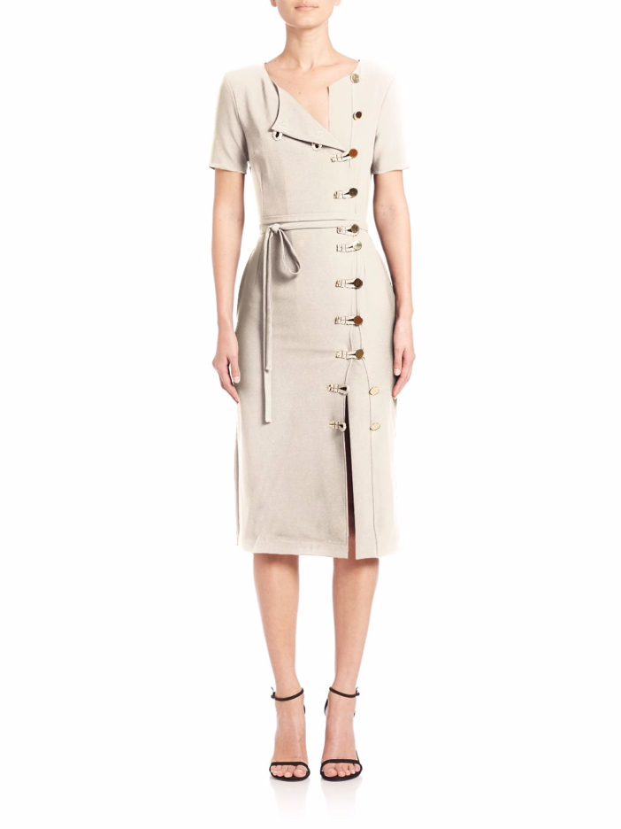 Altuzarra Kyoto Button Dress