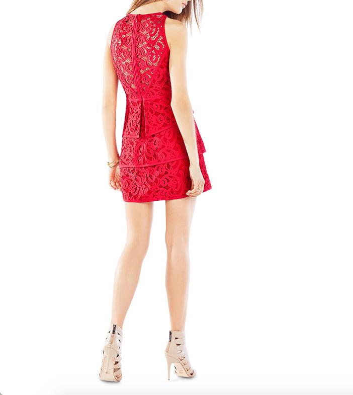 BCBGMAXAZRIA Hannah Lace Dress 2