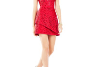 BCBGMAXAZRIA Hannah Lace Dress