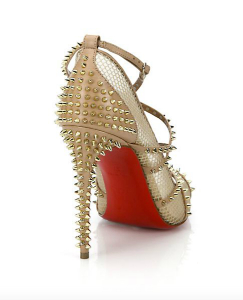 Christian Louboutin Alarc Spiked Strappy Sandals 2