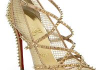 Christian Louboutin Alarc Spiked Strappy Sandals