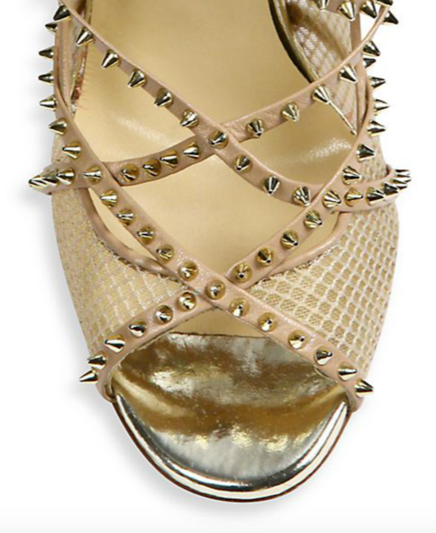 Christian Louboutin Alarc Spiked Strappy Sandals 3