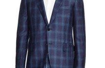 Eidos Windowpane Slim Fit Sport Coat