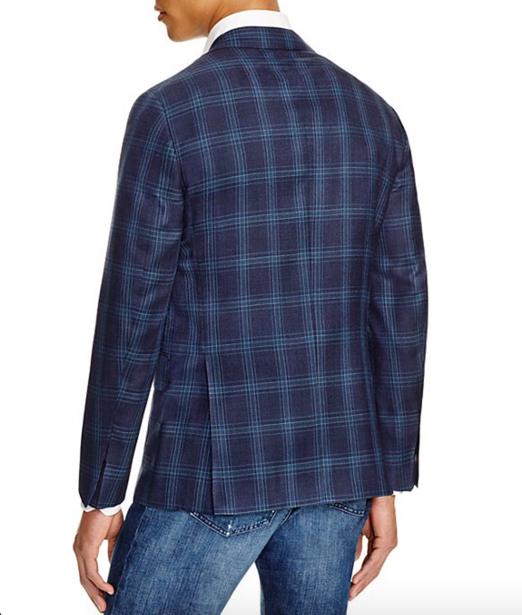 Eidos Windowpane Slim Fit Sport Coat 3