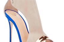 GIUSEPPE ZANOTTI Specchio-Trimmed Cutout Sandals