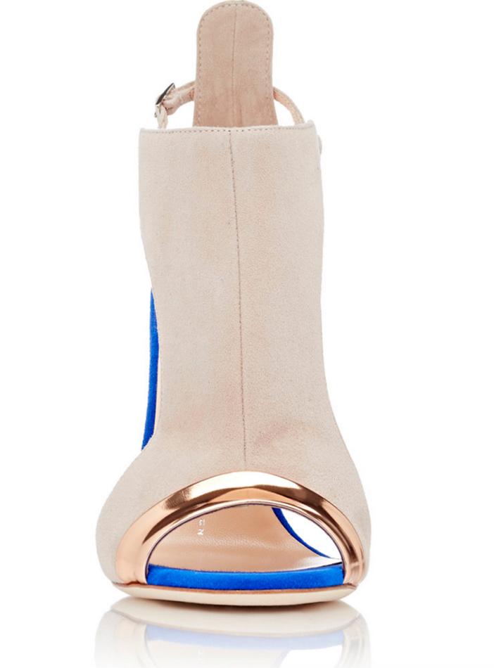 GIUSEPPE ZANOTTI Specchio-Trimmed Cutout Sandals 3