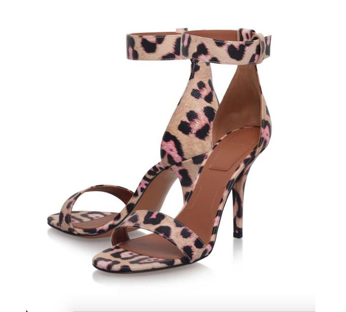 Givenchy Retra Leopard Print Sandal 2