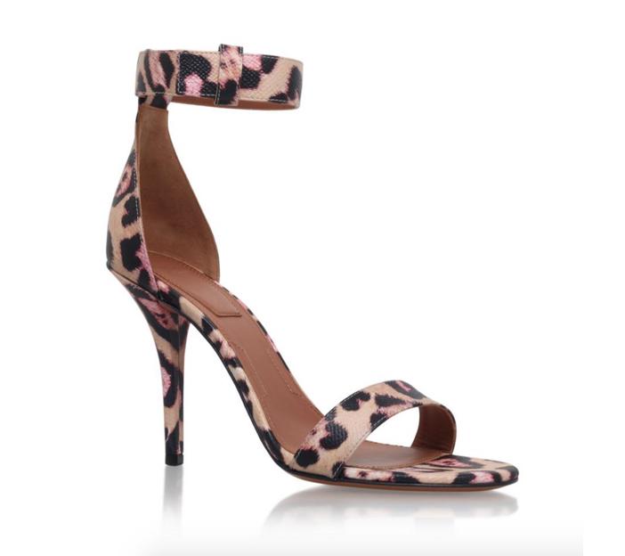 Givenchy Retra Leopard Print Sandal