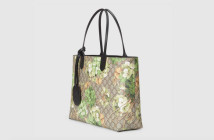Gucci Reversible GG Blooms Leather Tote 2
