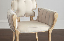 Julia Buckingham for Global Views Pearl Wiggle Chair