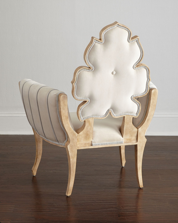 Julia Buckingham for Global Views Pearl Wiggle Chair 3