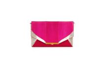 Khirma  Roya Watersnake Envelope Clutch Bag 4
