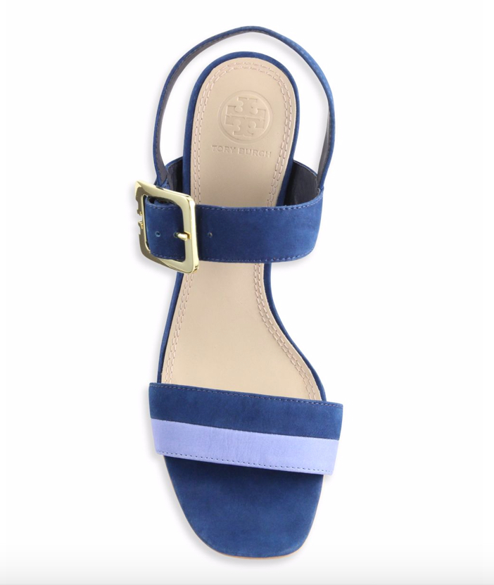 Tory Burch Palermo Suede Slingback Sandals 3
