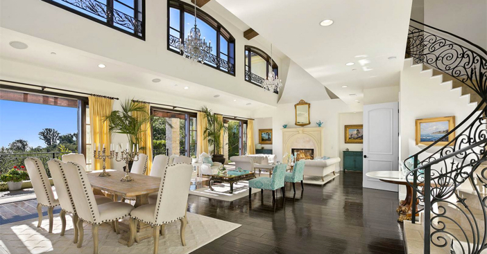 $12.8 Million Maison De Provence Estate in Laguna Beach California 5