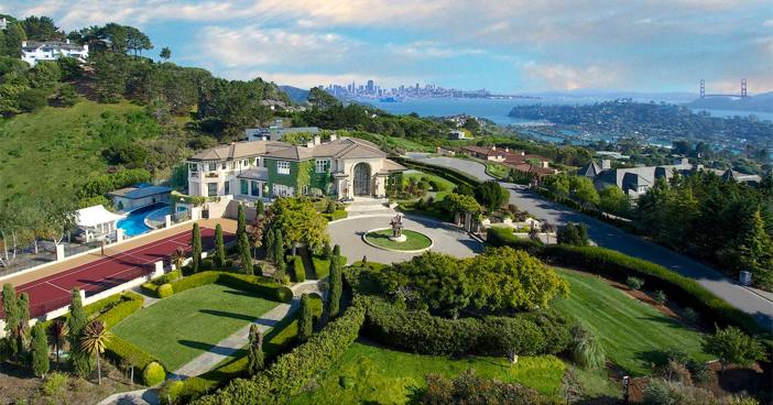 $12.9 Million Stunning Resort Quality Estate in Tiburon California