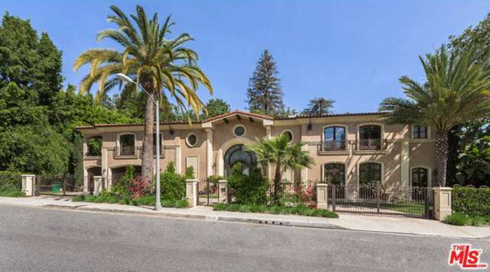 $12.9 Million Tuscan Mediterranean Villa in Beverly Hills
