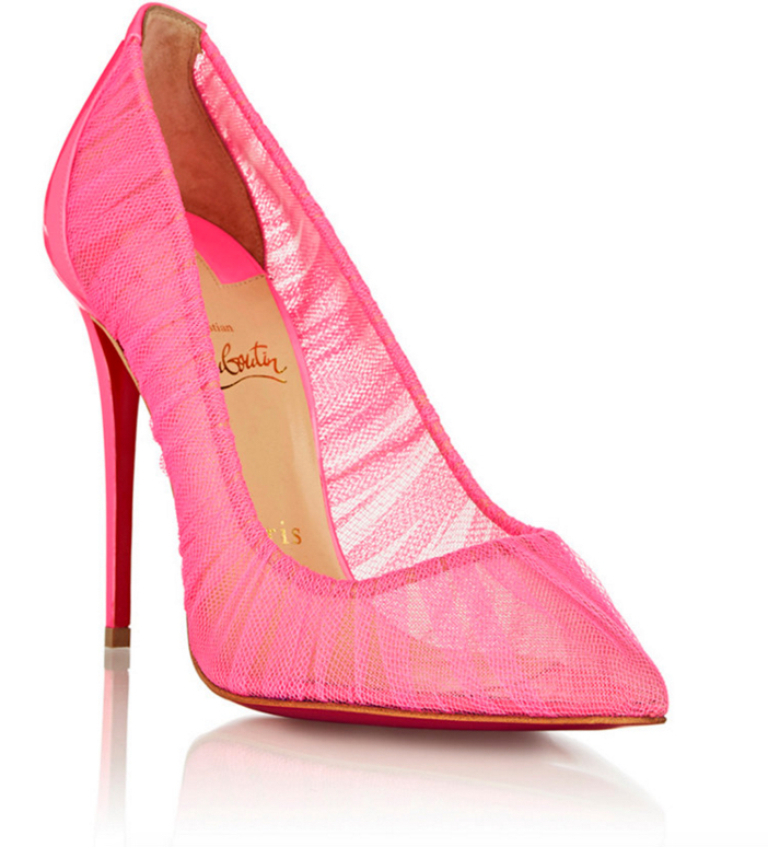 Christian Louboutin Follie Draperia Pumps 2