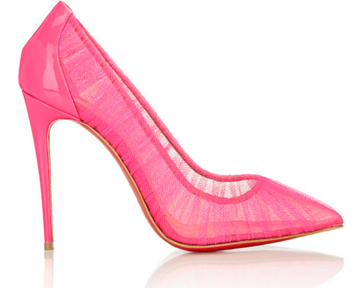 Christian Louboutin Follie Draperia Pumps 4