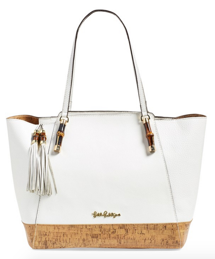 Kate Spade New York Bambusa Leather Tote Bag