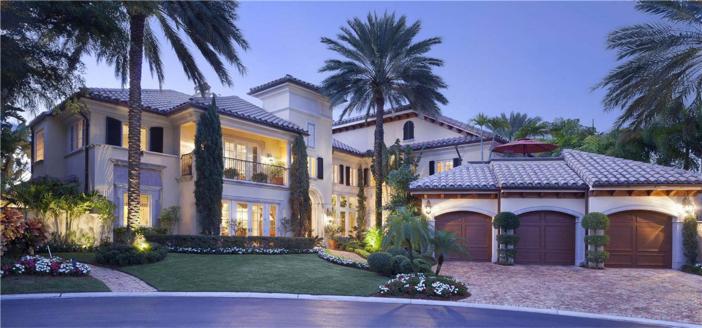 $6.9 Million Lake Como-Inspired Point Estate in Boca Raton Florida 3