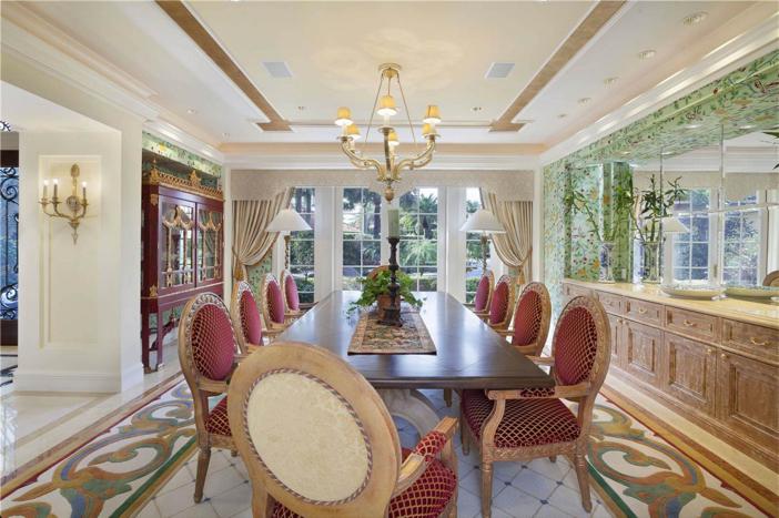 $6.9 Million Lake Como-Inspired Point Estate in Boca Raton Florida 5