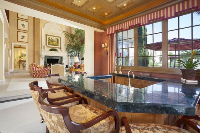 $6.9 Million Lake Como-Inspired Point Estate in Boca Raton Florida 9