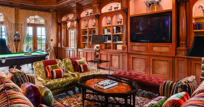 $75 Million Mega Mediterranean Mansion in Palm Beach Florida 13