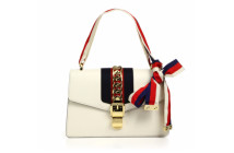 Gucci Sylvie Leather Shoulder Bag 2