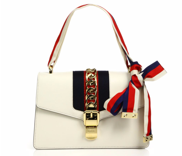 Gucci Sylvie Leather Shoulder Bag