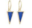 Jennifer Meyer Triangle-Drop Earrings 4