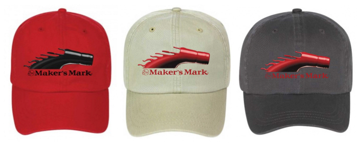 Maker's Mark Wax Horse Collection Hats