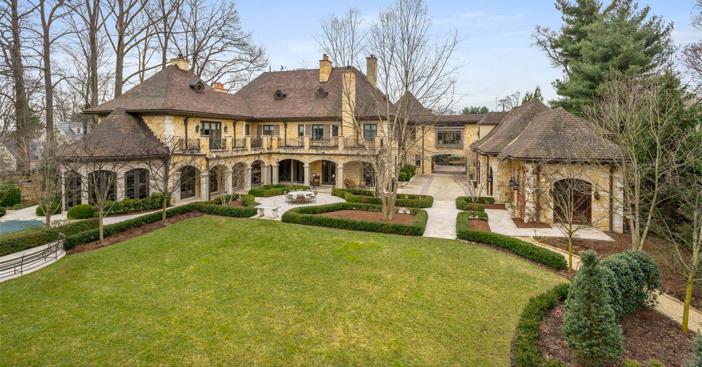 $18 Million Masterpiece of an Estate in Bethesda Maryland 21