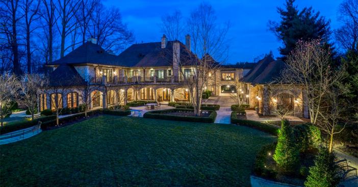 $18 Million Masterpiece of an Estate in Bethesda Maryland