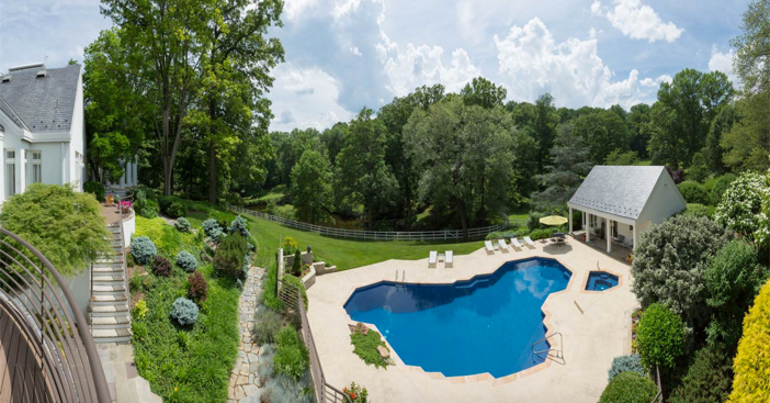 $7.9 Million Private Luxury Home in Potomac Maryland 15
