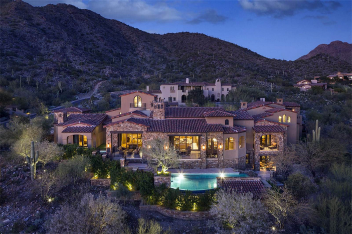 $8 Million European Manor in Scottsdale Arizona