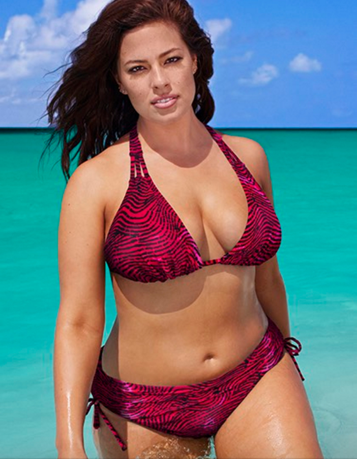 Curve-Friendly Swimsuits by Model Ashley Graham for SwimsuitsForAll 4