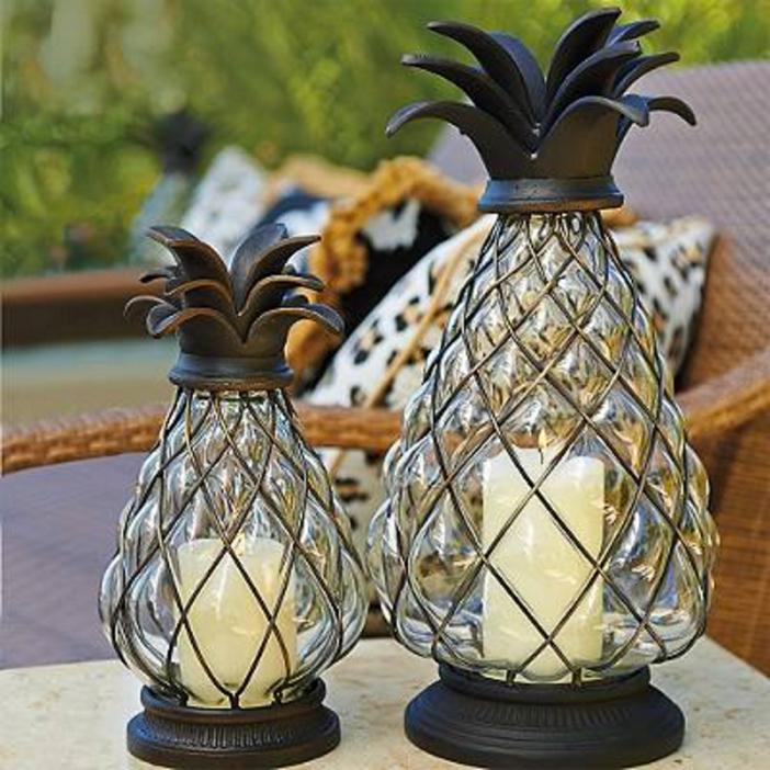 Frontgate Pineapple Lantern 2