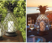 Light Up The Night With Frontgate's Pineapple Lanterns