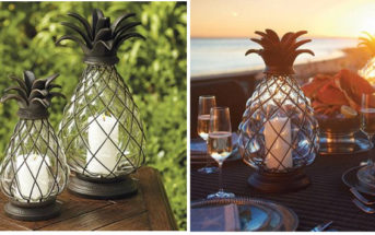 Frontgate Pineapple Lantern 4