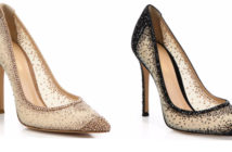 Gianvito Rossi Mesh & Crystal Point-Toe Pumps 4