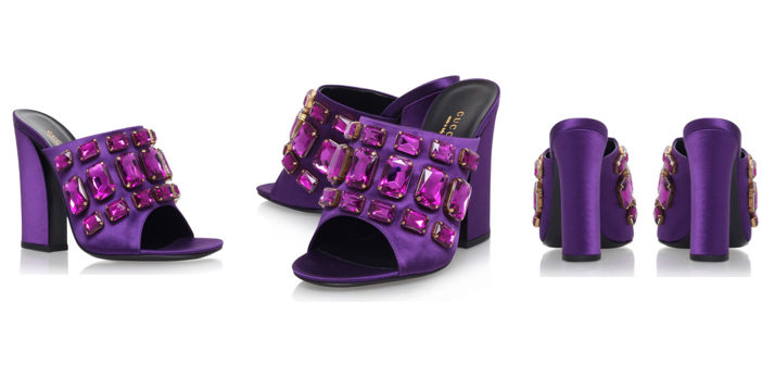 Shoe of the Day: Gucci Tessa Mule 110