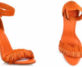 Shoe of the Day: Joie Pippi Fringed Suede Ankle-Strap Sandals