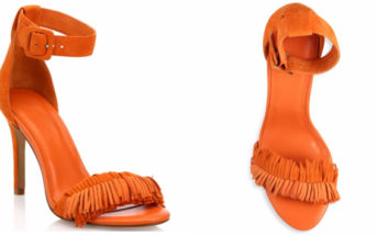 Joie Pippi Fringed Suede Ankle-Strap Sandals 5