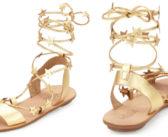 Shoe of the Day: Loeffler Randall Starla Leather Gladiator Sandal