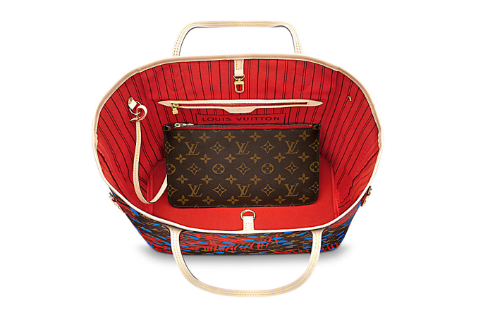 Louis Vuitton Neverfull MM Palm Print 2