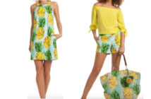 Trina Turk Perfect Pineapple Print